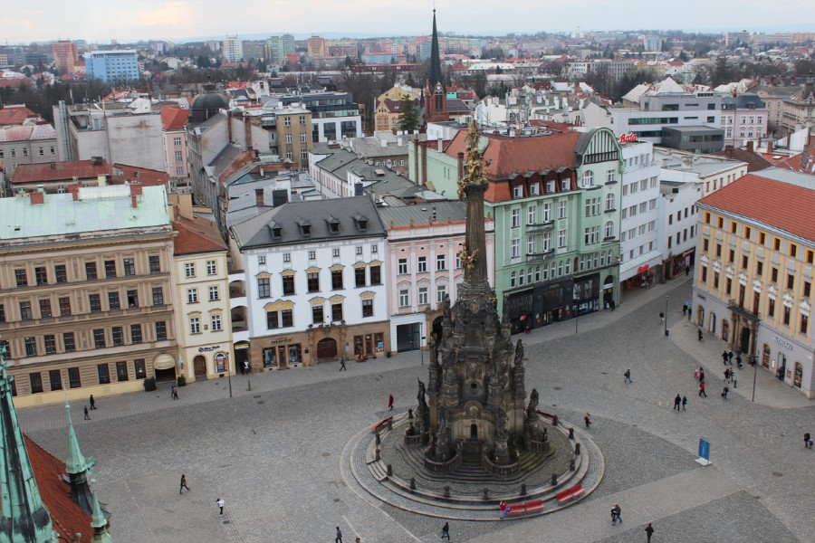 things to see in czech republic holy trinity column in olomouc - baroque monument 2