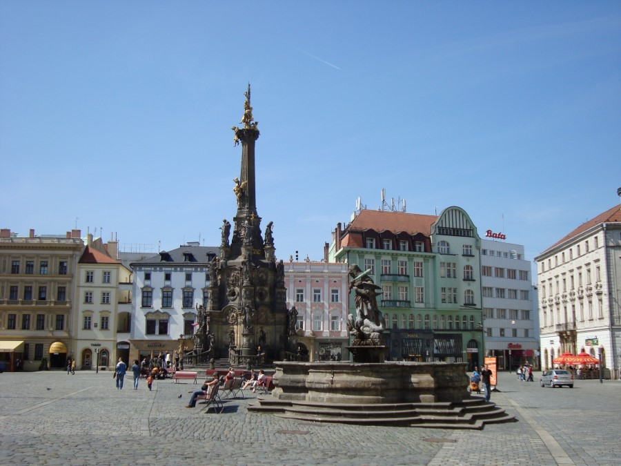 things to see in czech republic holy trinity column in olomouc - baroque monument 3