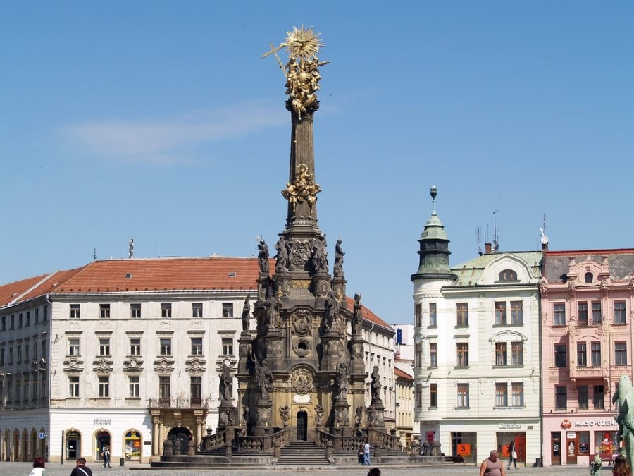 things to see in czech republic holy trinity column in olomouc - baroque monument 4