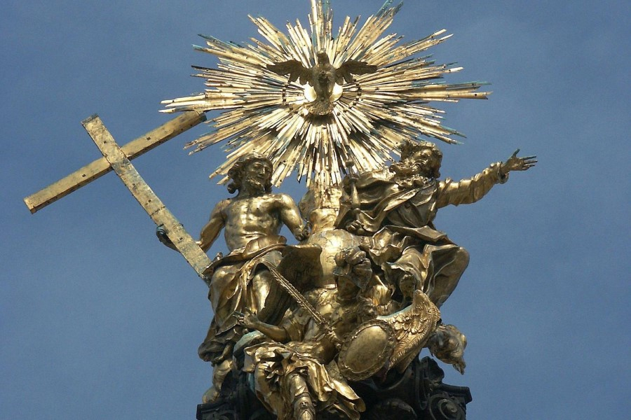 things to see in czech republic holy trinity column in olomouc - baroque monument 5