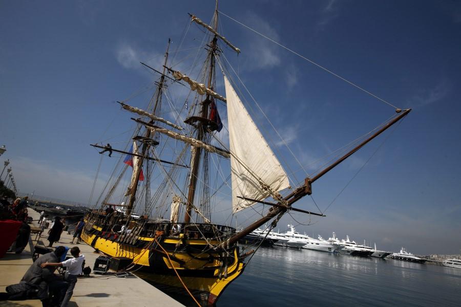 czech republic brig replica la grace tall ship 2