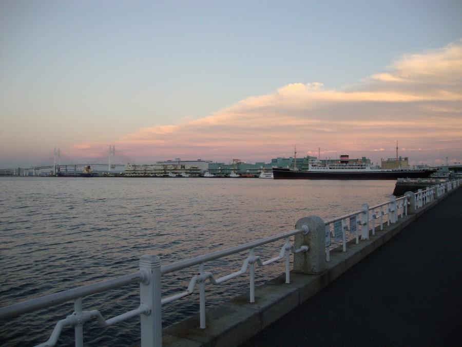 DSC07240 view of hikawa maru, trans-pacific liner, yamashita park, yokohama, japan