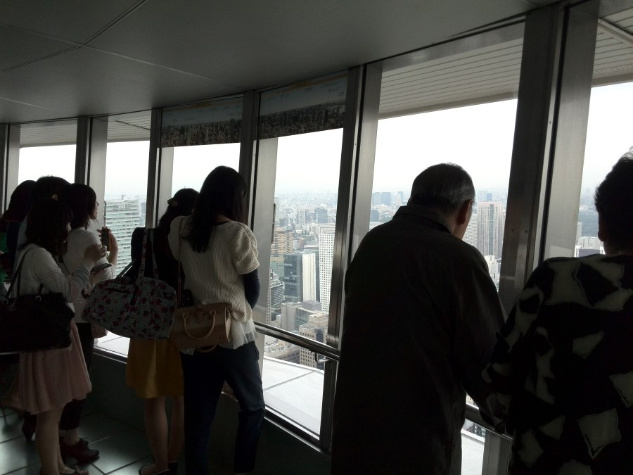 IMG_20141002_043734 admiring the view at tokyo tower in shiba, minato, tokyo