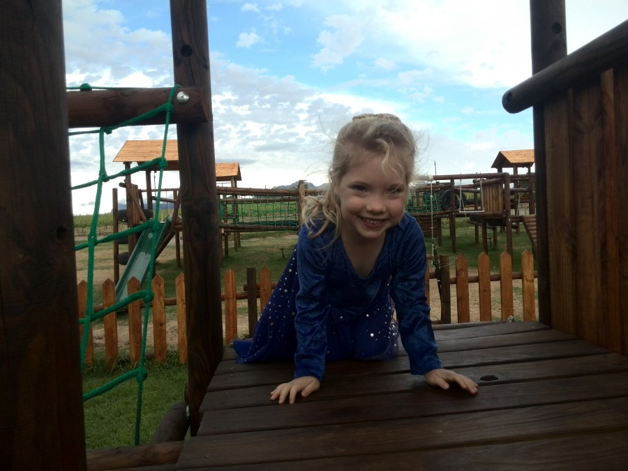 IMG_20150926_163838 jessica on the jungle gym at skilpadvlei wine farm in stellenbosch