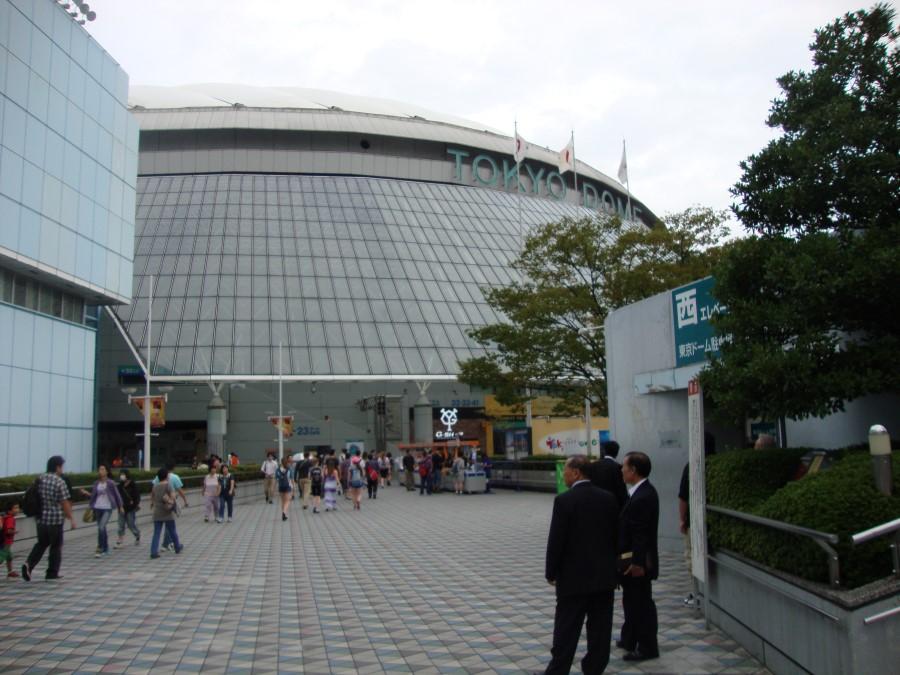DSC07284 inside big egg tokyo dome city, bunkyo, tokyo