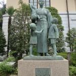 DSC07351 woman and child memorial at Yushukan War Memorial Museum in Chiyoda, Tokyo