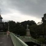 DSC07391IMG_20141004_133005 pedestrian bridge outside kitanomaru park, chiyoda, tokyo