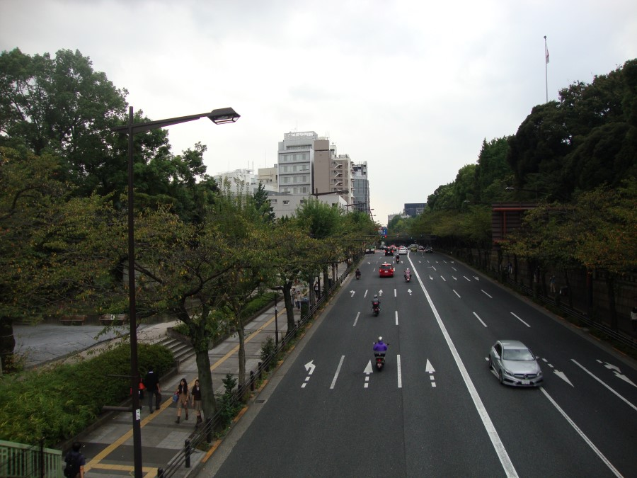 Japan 2014 – 16 Kitanomaru Park and the Nippon Budokan in Chiyoda, Tokyo (201...