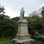 DSC07395 bronze sculpture outside kitanomaru park, chiyoda, tokyo