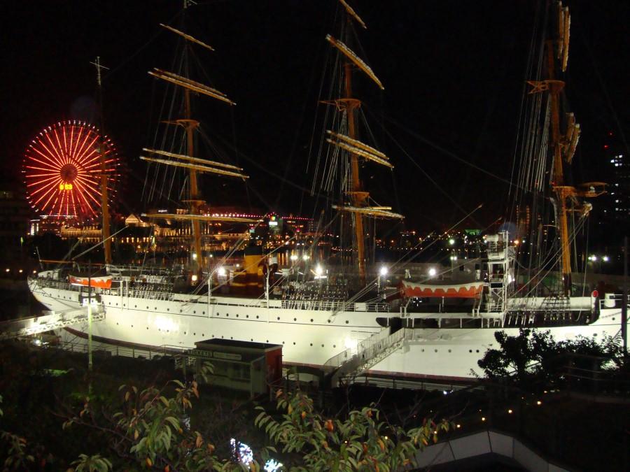 IMG_20141003_191735 nippon maru museum sailing ship, minato mirai, yokohama