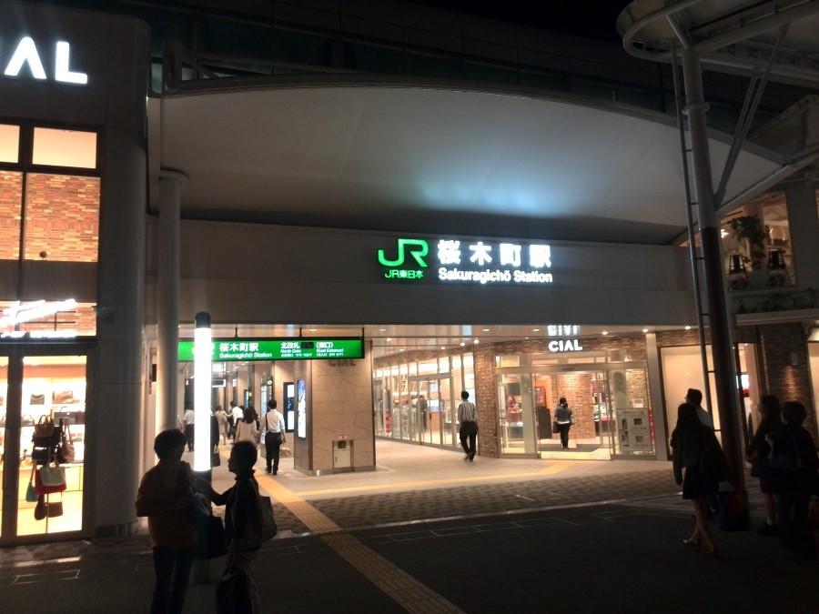 IMG_20141003_205916 JR sakragicho train station in yokohama