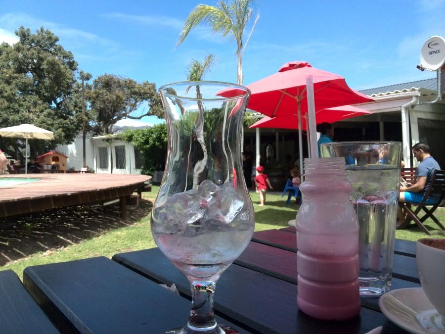 IMG_20151108_123538 pink milkshake at mondeor garden restaurant in somerset west