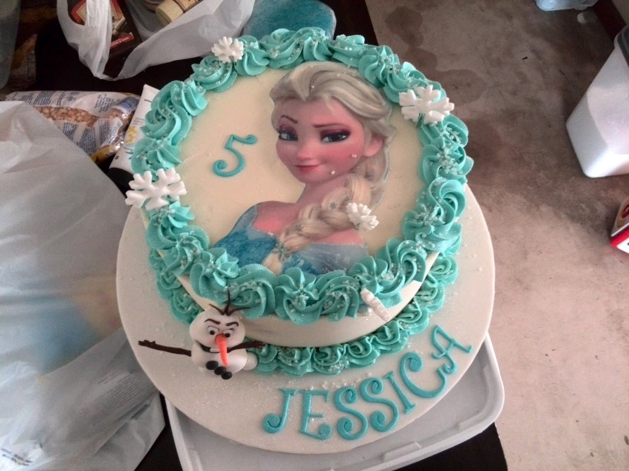 IMG_20151113_130651 elsa and olaf frozen cake for jessica's party at mondeor garden restaurant in somerset west