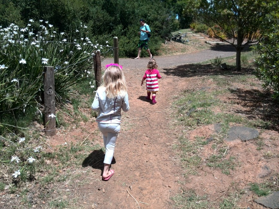 IMG_20151114_125345 jessica and emily marching along at vink's arboretum in durbanville