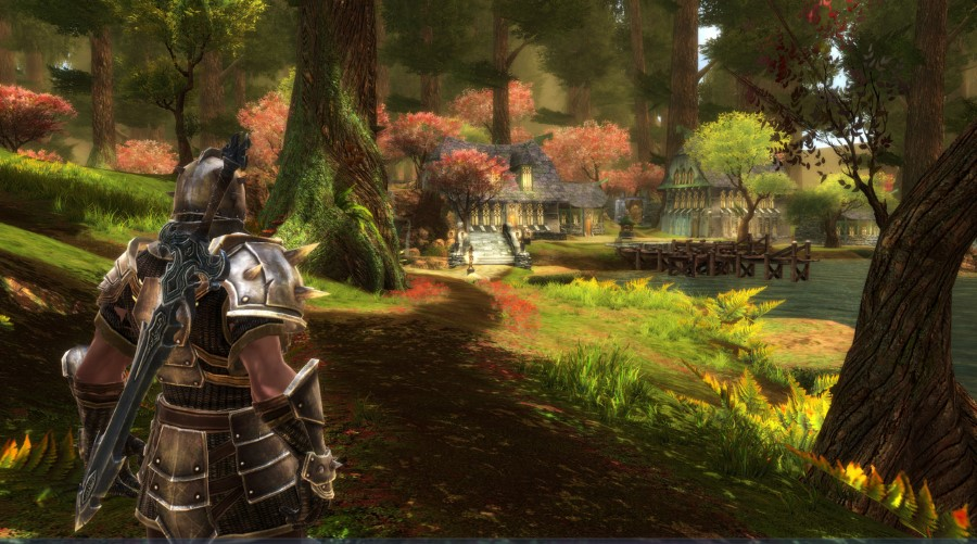 kingdoms of amalur reckoning rpg - might armour and sword art