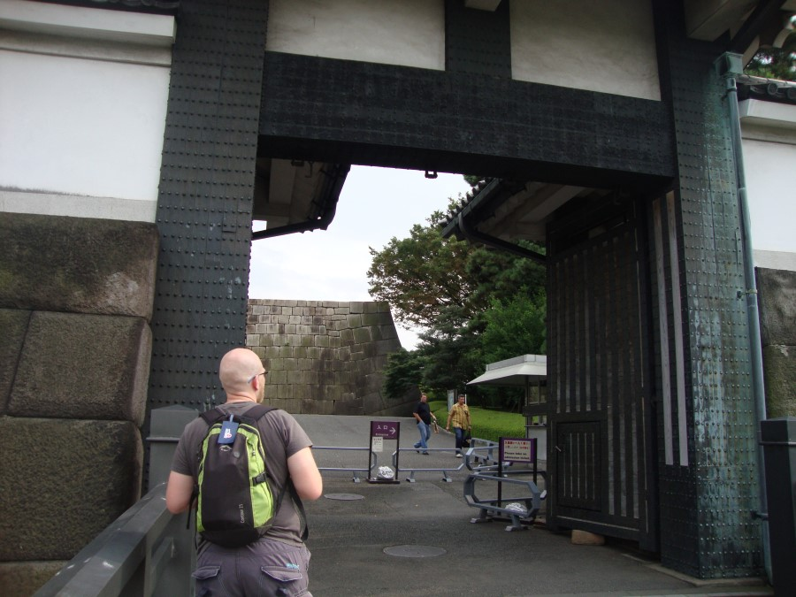 DSC07423 ryan lotter walking into the imperial palace east garden, chiyoda, tokyo, japan