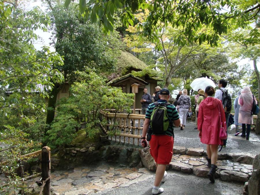 DSC07700 ryan lotter at Kyoto's Kinkaku-ji Temple - The Golden Pavilion