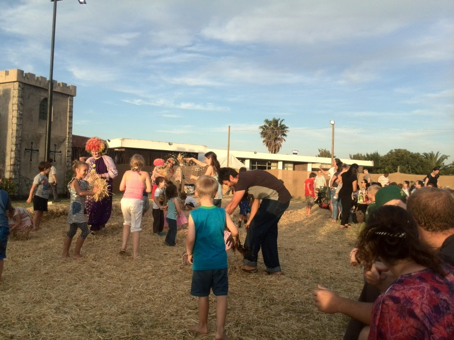 IMG_20151205_190549 playing in the hay at oom piet's christmas party at durbanville race course