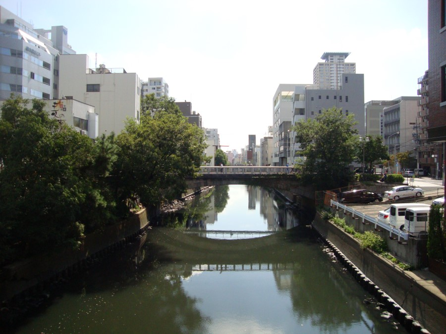 DSC07813 river in nagoya, japan
