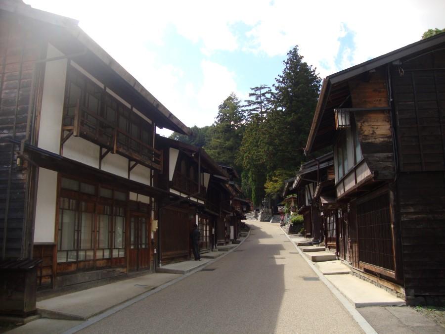 DSC07844 wooden buildings at narai-juku heritage post town, nagano, japan