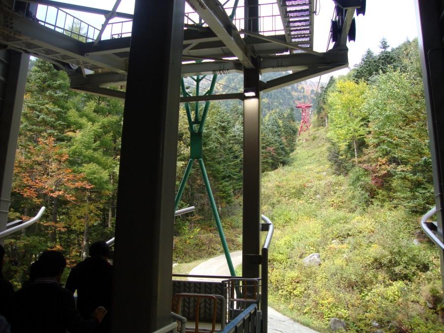 DSC07894 taking the komagatake ropeway up mount komagatake of the chuo alps, komagane, japan