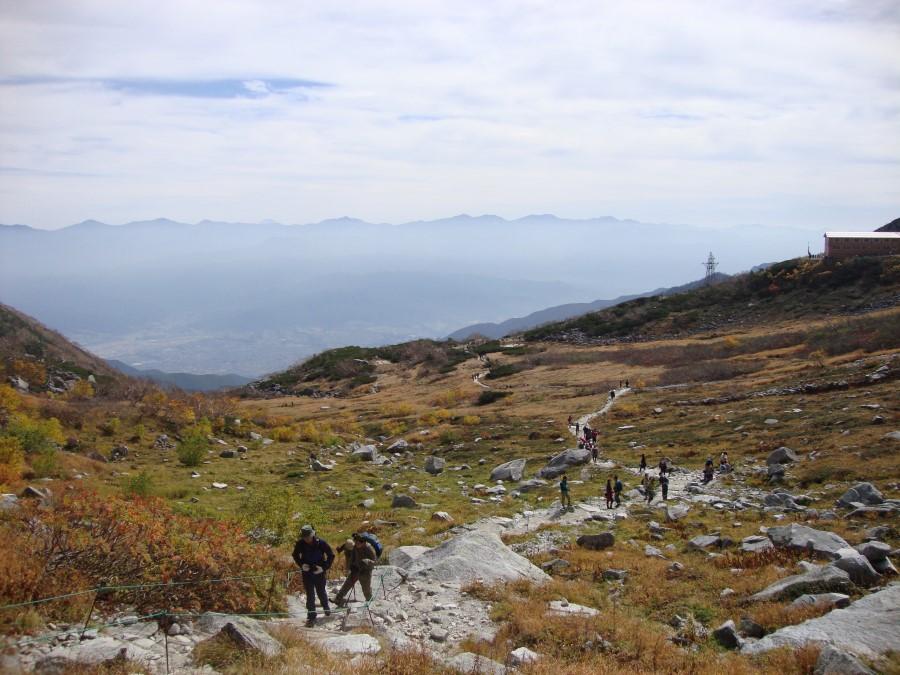 DSC07914 walking up mount komagatake of the chuo alps, komagane, japan