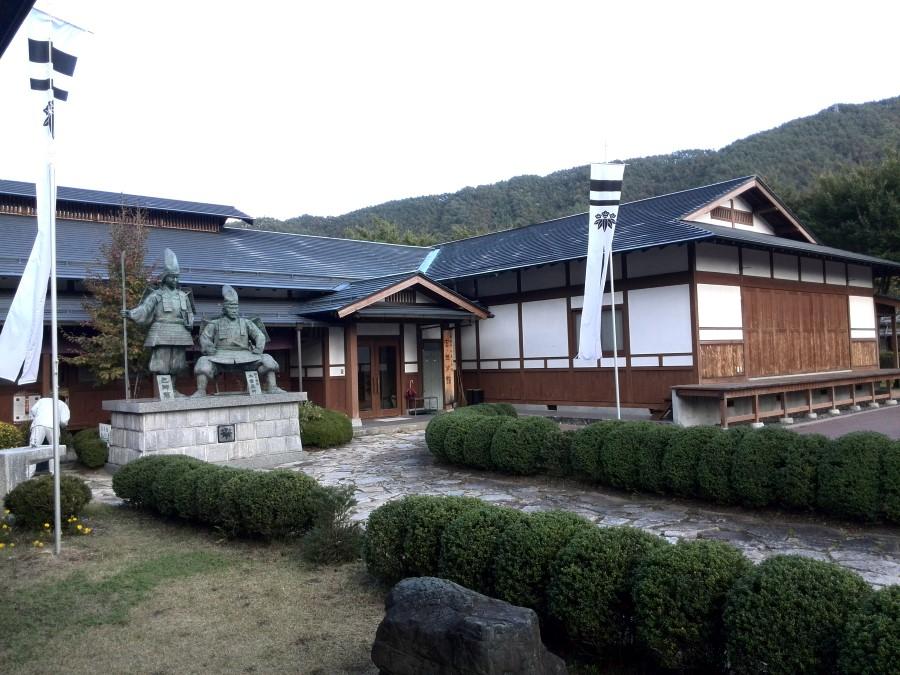 IMG_20141009_151747 view of the grounds of the yoshinaka yakata museum in miyanokoshi, japan