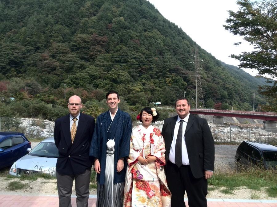 IMG_20141012_121557 ryan and craig lotter, with yuko and terrance brown at their wedding, komagane, japan