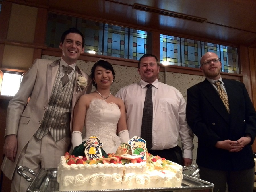 IMG_20141012_133545 ryan and craig lotter, with yuko and terrance brown at their wedding, komagane, japan