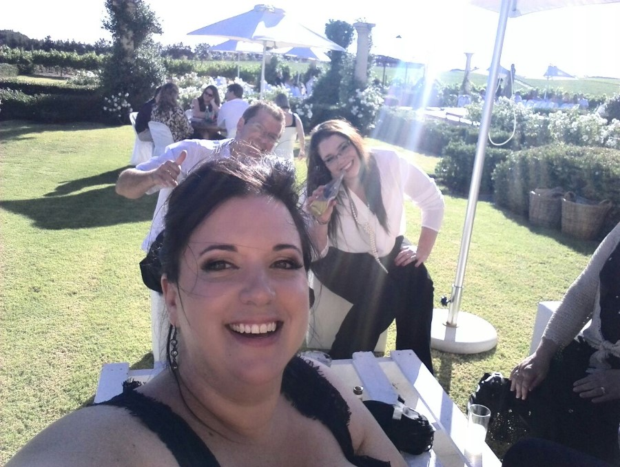 chantelle lotter at retha and miguel's wedding