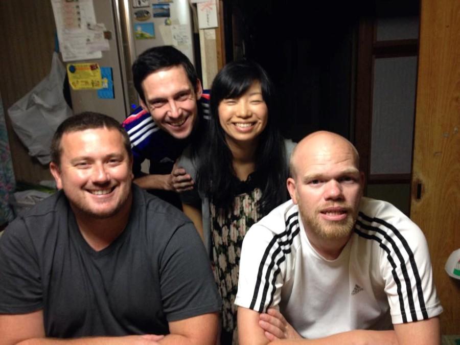 craig lotter, ryan lotter, yuko omiya, terrance brown in komagane japan 2014