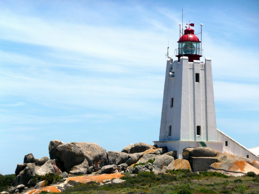 cape columbine lighthouse on the west coast near paternoster, south africa 1