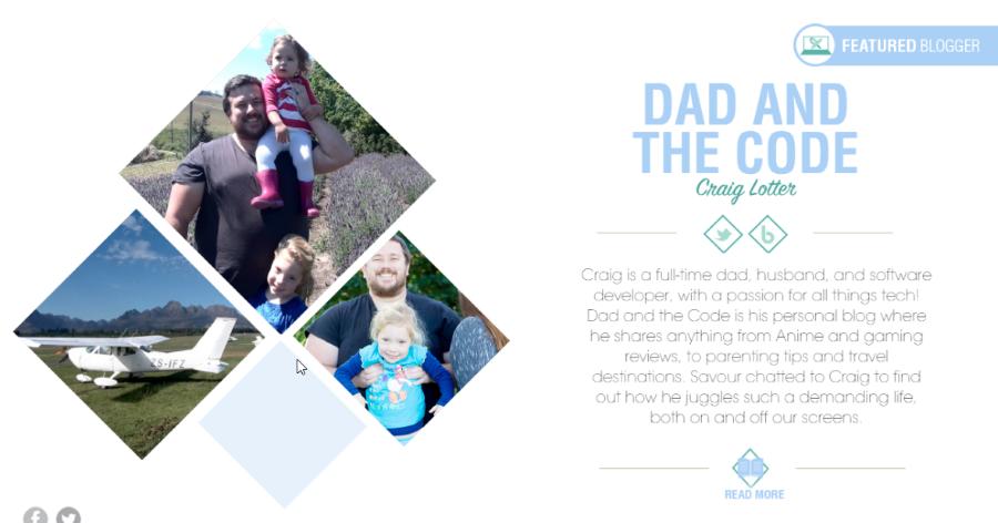 dad and the code craig lotter magazine entry spar savour magazine december 2015 1
