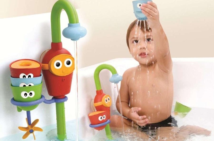 yookidoo flow n fill spout bath toy