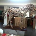 IMG_20160225_101653 horse sculpture at the stables restaurant at vergelegen wine estate in somerset west