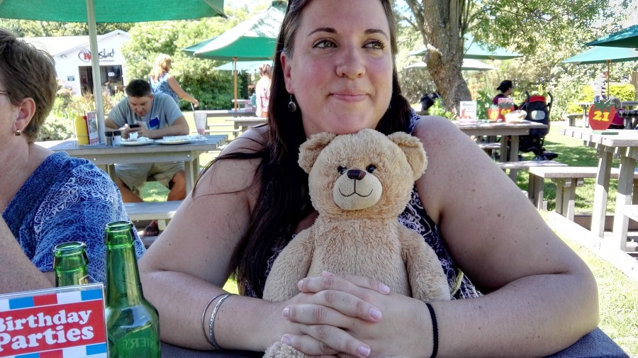 IMG_20160312_124203 chantelle lotter with teddy at redberry farm in george