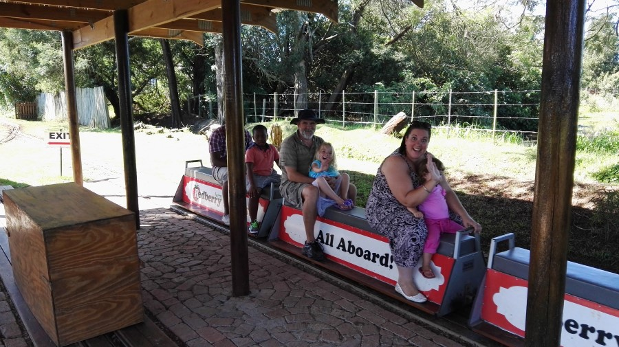 IMG_20160312_144551 onboard the strawberry express mini train at redberry farm in george