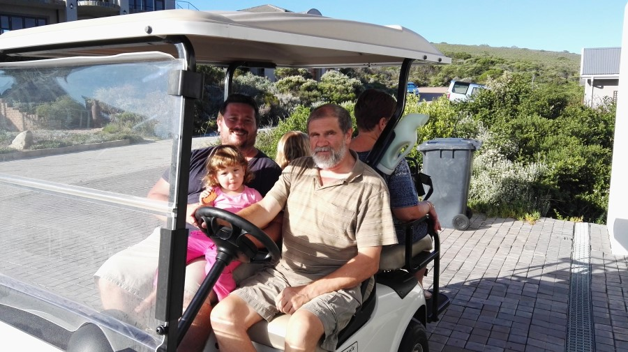 IMG_20160312_170154 ronald and craig lotter on the golf cart in pinnacle point, mossel bay