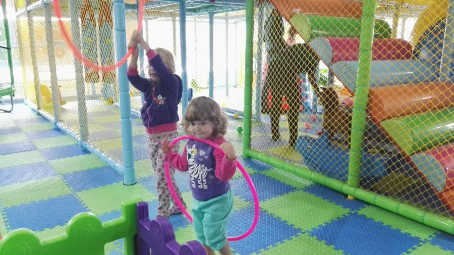 IMG_20160402_131240 emily and jessica hula hooping at kidz corner indoor play center in strand