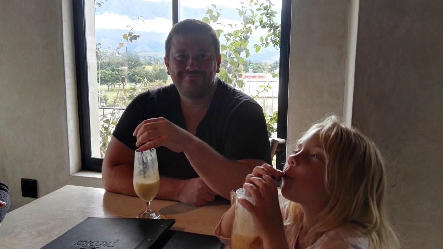 IMG_20160417_121454 craig lotter drinking a milkshake at tredici bakery and restaurant in swellendam
