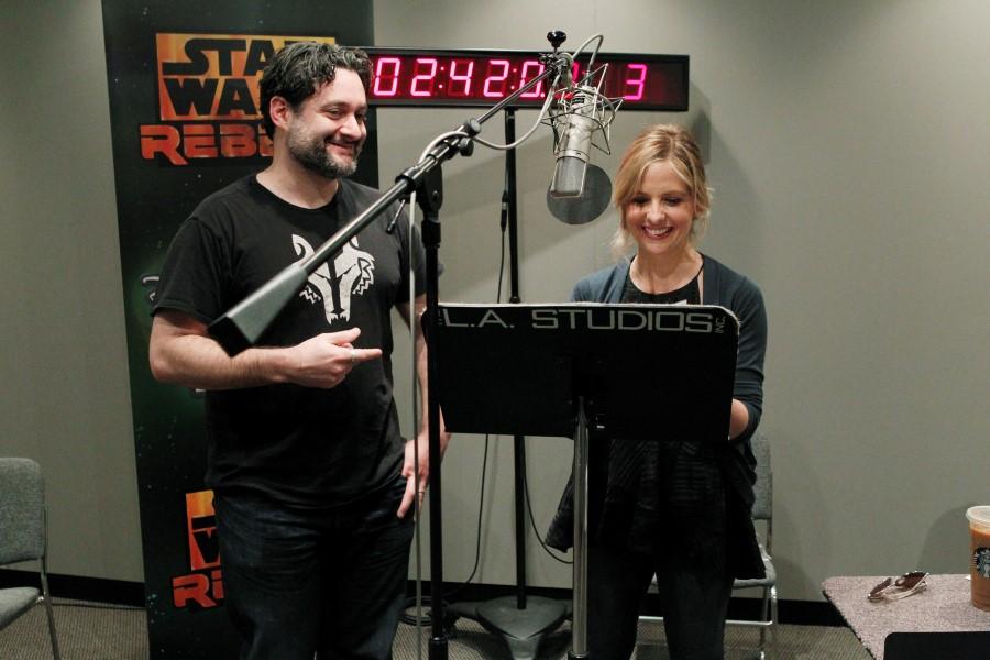 Star Wars Rebels - Dave Filoni and Sarah Michelle Gellar