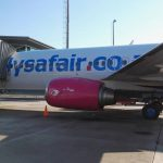 IMG_20160412_2 Landing at King Shaka International Airport in Durban via a pink and white Flysafair boeing