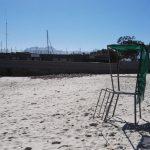 IMG_20160501_121341 life guard chair at bikini beach in gordon's bay