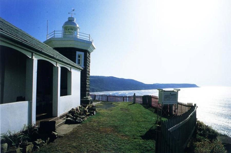 cape hermes lighthouse port st johns eastern cape south africa 1