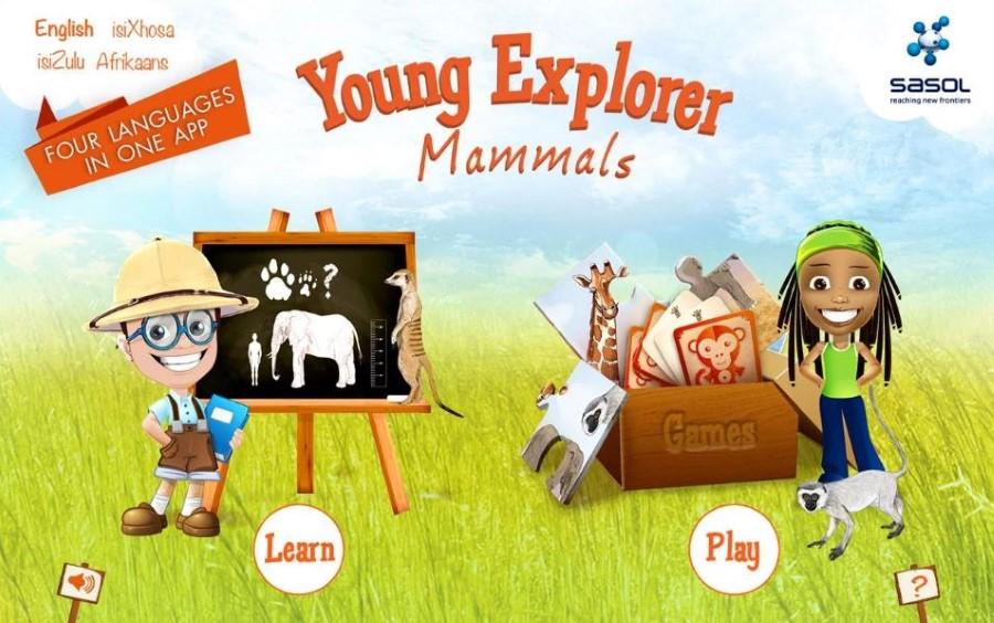 sasol young explorer app mammals android screenshot 1