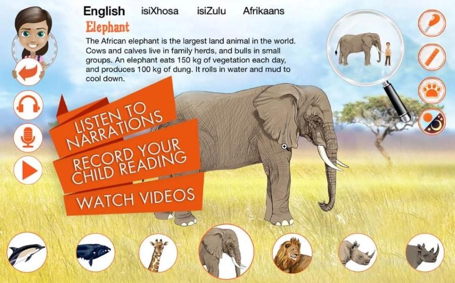 sasol young explorer app mammals android screenshot 2
