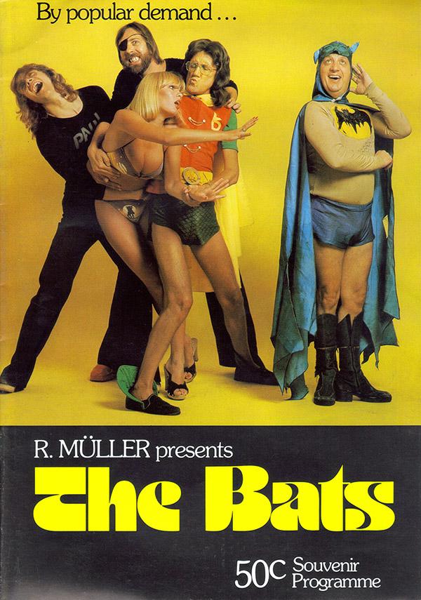 the bats band comical cover with eddie eckstein as batman