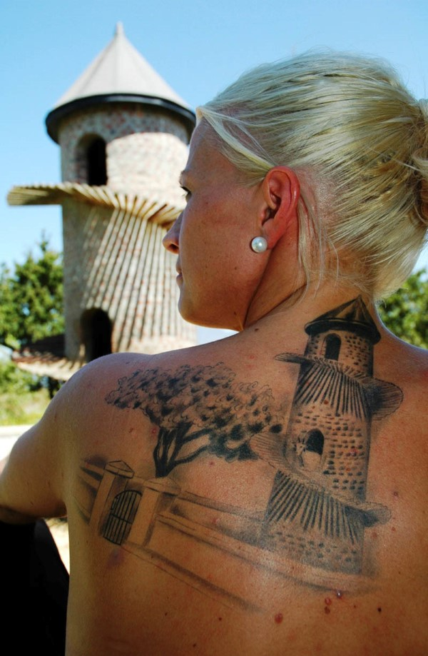Elisabeth Holm, chef at Ekeby and the girl with the goat tower tattoo