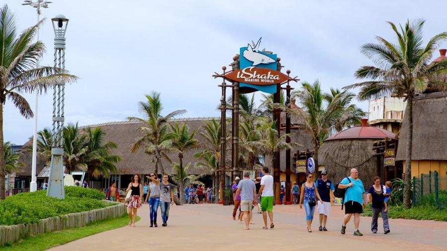 entrance-at-ushaka-marine-world-theme-park-in-durban-south-africa